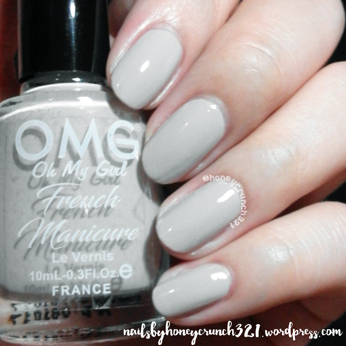 """OMG """"French Manicure"""" Collection Review & Swatches ..."""